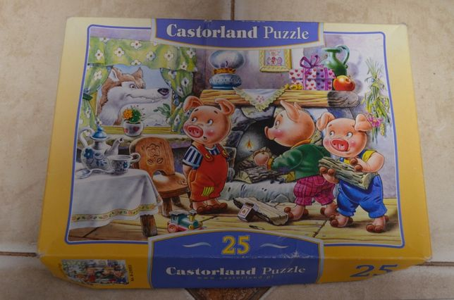 Пазлы Castorland на 4 года