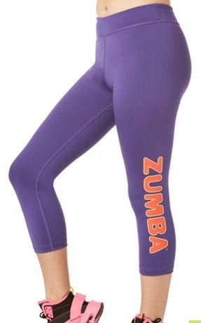 Novo! Leggings de Zumba, da marca registada Zumba. Tamanho S.