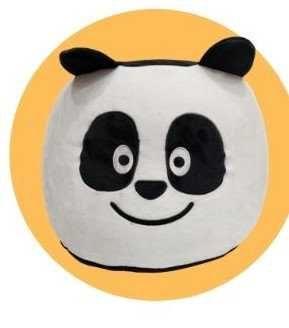 Puff Panda novo caixa portes incluídos