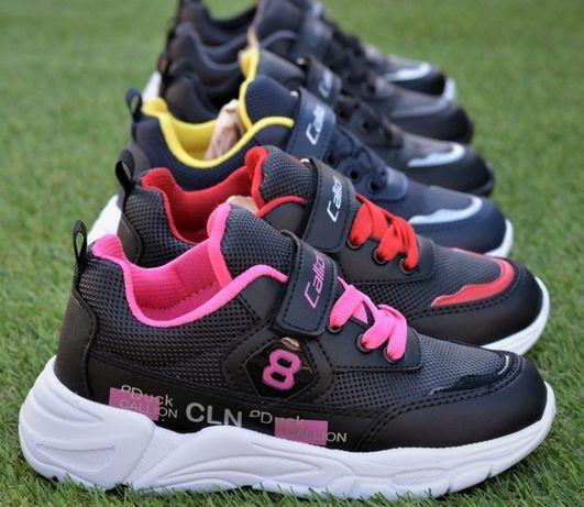 Кроссовки демисезонные детские Nike Adidas найк черный 31-35