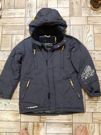 Зимняя куртка- парка пуховик, на мальчика или подростка