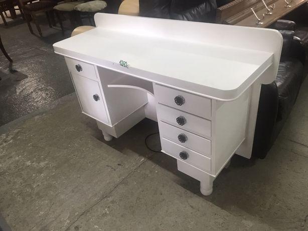Piękne białe masywne małe biurko stolik toaletka prowansalskie DOWÓZ