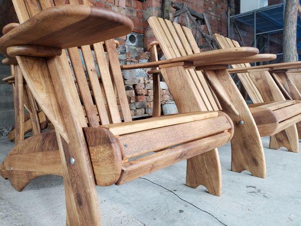 Крісло садове Адірондак ( дуб ) / Адирондак / Adirondack
