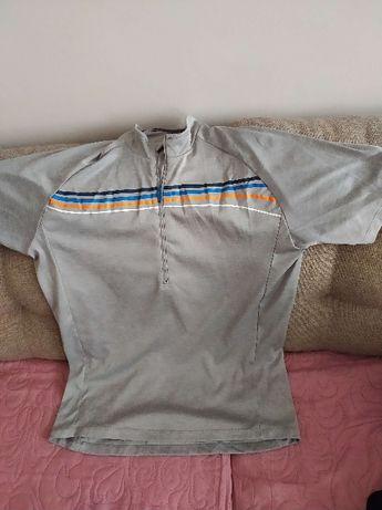 Sprzedam koszulkę na rower firmy Ziener kolor popielaty