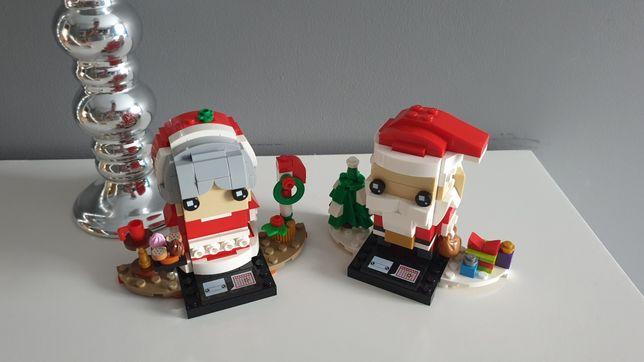 Klocki Lego zestaw Mikołaj i Pani Mikołajowa