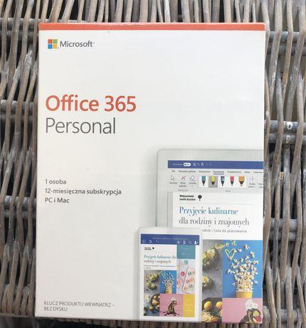 Microsoft Office 365 Personal nowy w folii