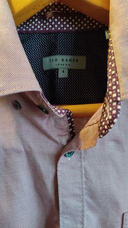 Брендовая Мужская рубашка TED BAKER