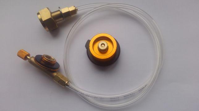 Перехідник для заправки газових балонів, адаптер переходник баллонов