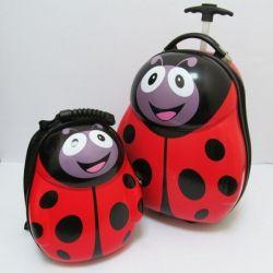 Детский чемодан и рюкзак дорожный набор для девочки или мальчика