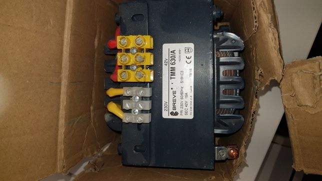 Transformator 1 fazowy 630VA 230/42V