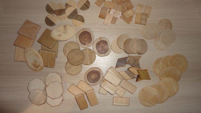 Заготовки деревянные для рун, браслетов и ожерелья