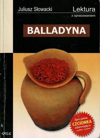 Balladyna + opracowanie Juliusz Słowacki