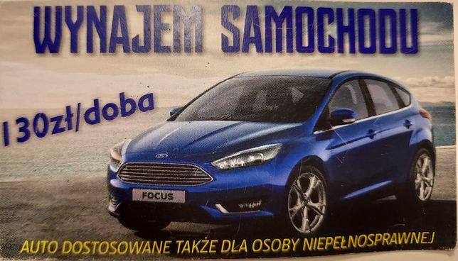 Wynajm samochodu FORD FOCUS 1.5 Titanum 2015 r.