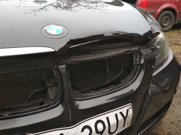Maska samochodowa BMW E91 r. 2006