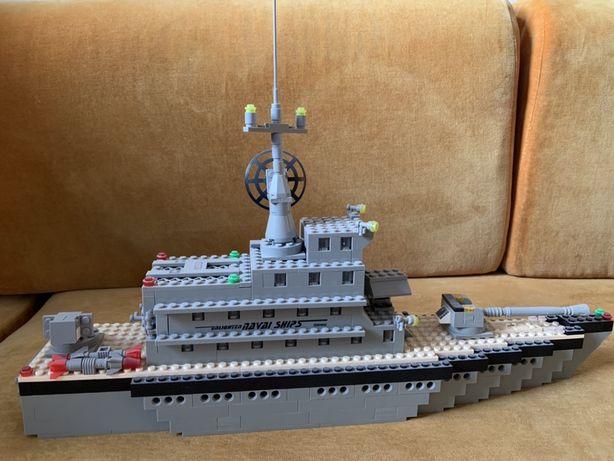 Конструктор Brisk военный корабль