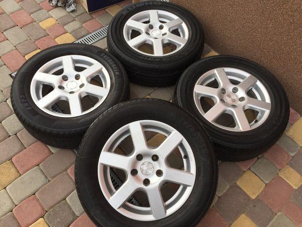 Тітанові діски ALuett 5*112 R15 Mercedes -Audi-Scoda-VW-Seat