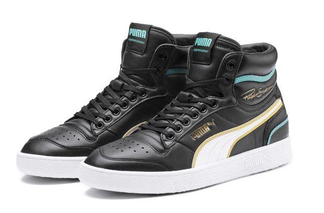 Кроссовки Puma Ralph Sampson Mid Hoops Sneakers 44.5EU (кожа)