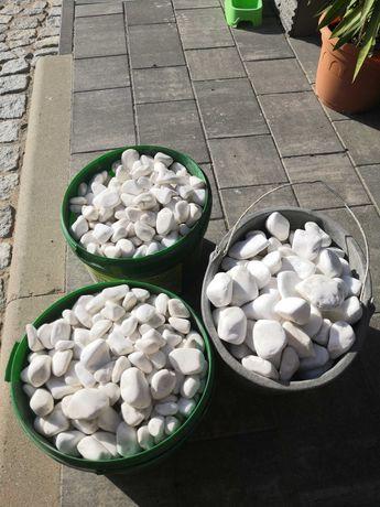 Kamień biały otoczak 250 kg