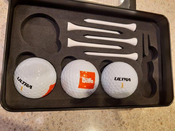 Piłeczki i podstawki do golfa