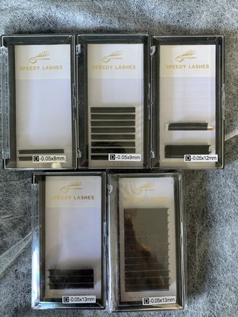 Rzesy Exclusive Lashes 0.05D 5 kasetek