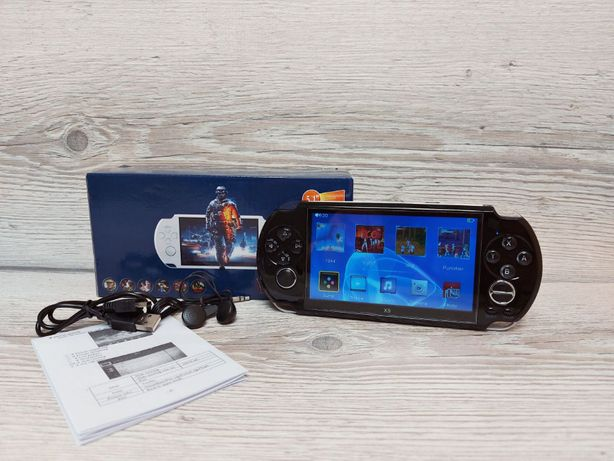 консоль 1000 игр, ТВ-выход | 5,0 д., PSP X9. Приставка | геймпад.