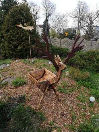 Donica ogrodowa jeleń
