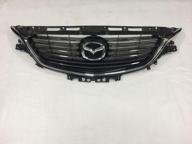 Mazda 6 решётка бампер фары усилитель