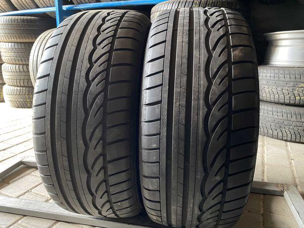 лето 225\50\R17 7.9мм Dunlop SP Sport 01 2шт шины шини КАК НОВЫЕ