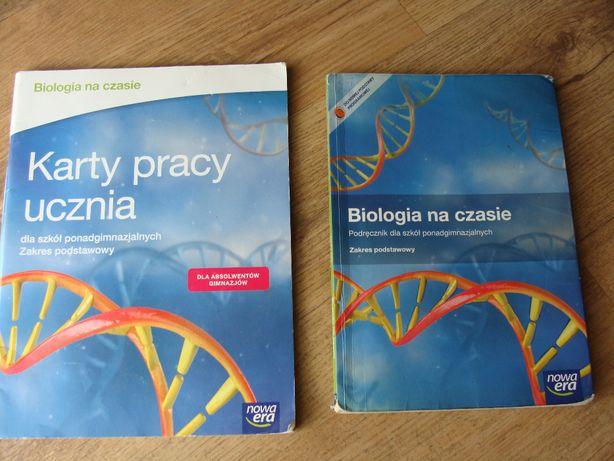 ,, BIOLOGIA NA CZASIE'' podręcznik+ karta pracy dla ucznia