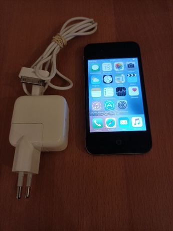 iPhone 4S 8 GB z foliami .! Czarny