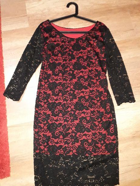 Sukienka koronkowa piękna na sylwestra lub na inne imprezy polecam