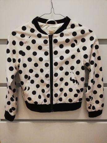 Bomberka kurtka bluza 134 H&M