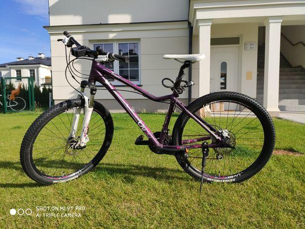 Sprzedam damski rower Liv tempt 4 fioletowo różowy