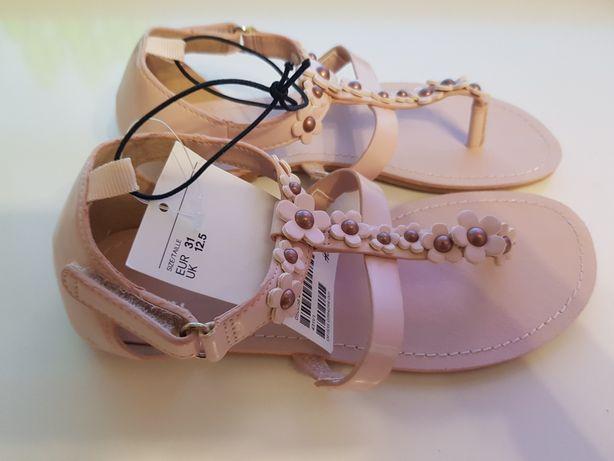 Nowe sandały japonki H&M rozmiar 31