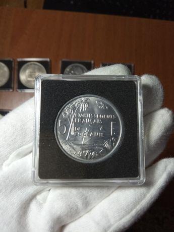 Leuchtturm Французская Океания 1949-1952 5 франков редкие UNC монеты