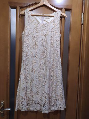 Платье летнее кремовое