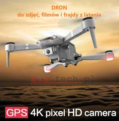 Dron F3 GPS 2 kamery 6K aplikacja WiFi NOWY PL 24h