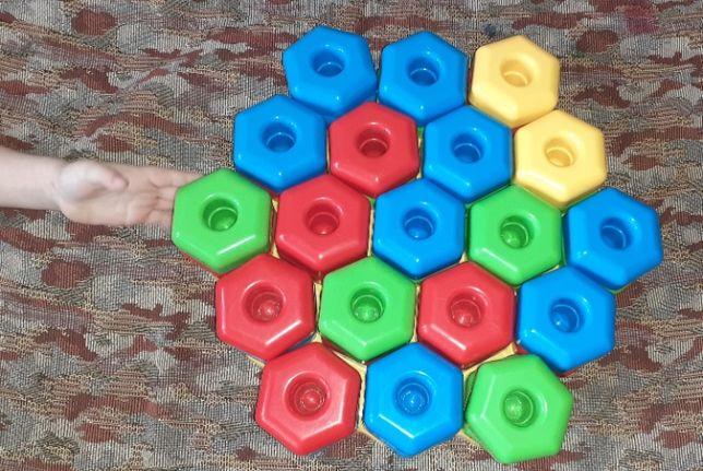 Крупная мозаика для малышей Игропаззлы Tigres 39 элементов