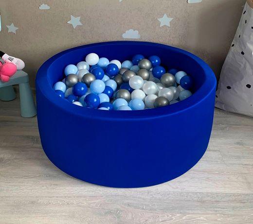 Сухой бассейн с шариками Voodi. Мягкий манеж. Отправка в день заказа.