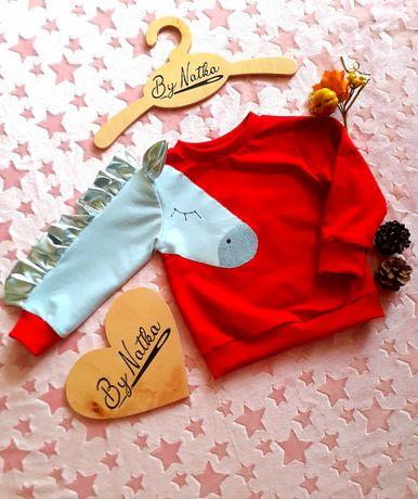Bluza unikat handmade