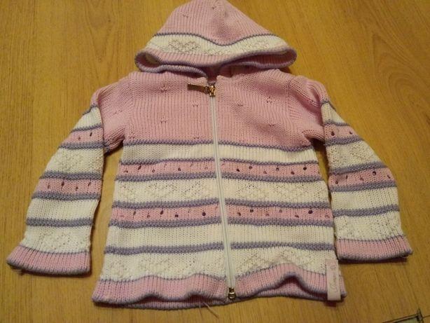 Sweterek dla dziewczynki rozmiar 92