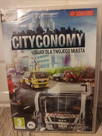 Gra na komputer pc City Economy Usługi dla Twojego miasta polska nowa