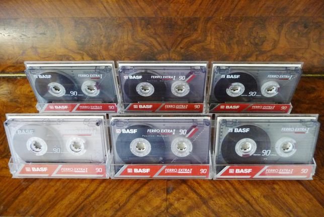 Аудио кассеты [BASF Type I 90] =BEST ACCORDION / Records 16-Lp= (6-шт)
