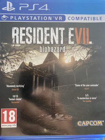 Resident Evil VII ps4 biohazard