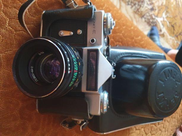 Zenith - aparat fotograficzny z lampą błyskową