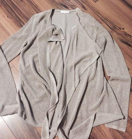 Calvin Klein - złota narzutka/sweterek