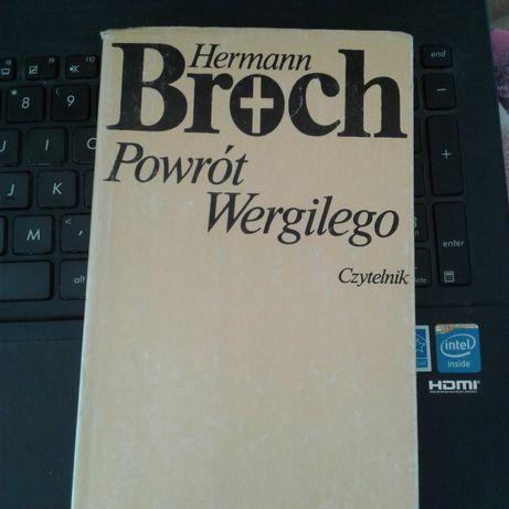 H. Broch Powrót Wergilego