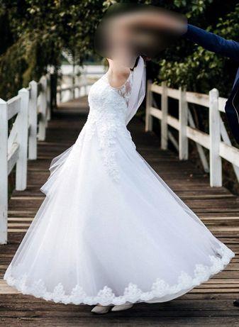 Suknia ślubna - rozmiar 40
