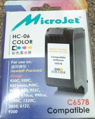 Картридж Microjet для hp №78 color для hp 930c/950c/970c (HC-06)