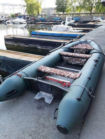Лодка килевая пвх 360 резиновая надувная